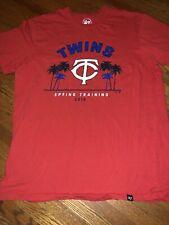 Minnesota Twins Spring Training 2019 Tshirt Mens Size Medium MLB Red