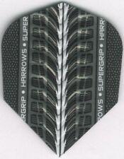 White HARROWS SUPERGRIP Dimplex Ribs Dart Flights: 3 per set