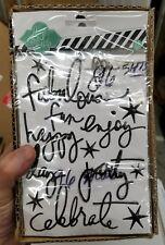 Heidi Swapp 96 Black Sticker Sheets Wholesale Fabulous, Fun, Happy, Party