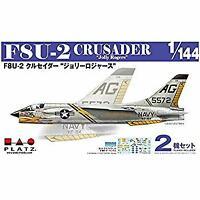 1/144 F8U-2 Crusader 'Jolly Rogers' (2 Aircrafts Set) Plastic Model