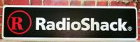 """RadioShack logo aluminum sign  6"""" x 24"""""""