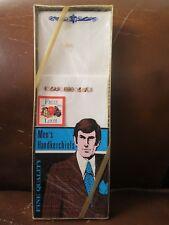 vintage nos Fruit of the Loom Fotl Men's Handkerchiefs Hankies Usa