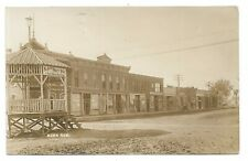 1910s RPPC View Of Alma Nebraska With Photographer's Studio Sign