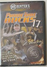 HUNTER'S SPECIALTIES PRIMETIME BUCKS 17 DVD 3 1/2+ HOURS 26 HUNTS SLIM CASE