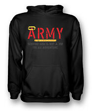 Army Of The Lord - Serving God - Cool Religious - Mens Hoodie