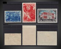1947 URSS.2 ISSUES MINT HINGED WOMAN DAY MOSCOW SOVIET 30Th. ANN. SCT. 1123 - 25