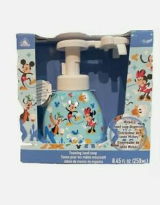 Disney Parks Mickey Foaming Soap Dispenser SEALED New Global shipping