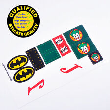 CUSTOM sticker for LEGO 7782 Joker's Aerial Assault, Premium quality sticker