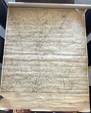 CARTINA DOPOGRAFICA bergamasca ANNI 40 (1.45X1.13cm)