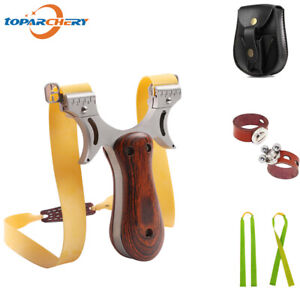 Professional Slingshot Kit Set, Outdoor Hunting Slingshot High Velocity Catapult
