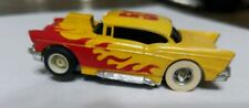Tyco '57 Chevy Hardtop Yel/Red Flames #53