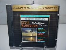Dinah Washington - What A Diff'rence A Day Makes MFSL UDCD698 24K Gold USA OPP
