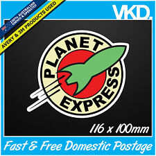 Planet Express Sticker/ Decal - Futurama Drift Turbo Bomb JDM FATLACE ILLEST 4x4