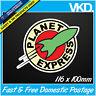 Planet Express Sticker/ Decal - Futurama Drift Turbo Bomb JDM FATLACE ILLEST 4x4