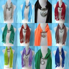 *US Seller*wholesale lot of 10 mixed design jewelry charm pendant necklace scarf