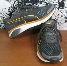 Puma Ignite Speed 1000 S Mens Running Shoes Size 10 Orange Gray