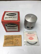 Yamaha RD350 RD400 Piston Rings Circlips Wiseco +.20 74-79 NOS