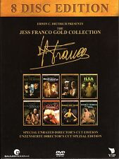 The Jess Franco Gold Collection Box , 8 Movies on 8 Discs , 100% Uncut Movies