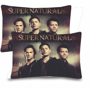"""Supernatural Pillow Case 20""""x 30"""" One Side Print (Set of 2 Items)"""