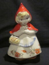 Hull Little Red Riding Hood Open Basket Cookie Jar