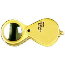 Gold Jewelers Loupe 18mm 10x with Case