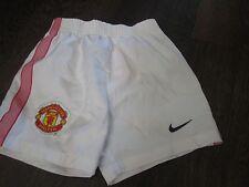 Manchester United 2011-2012 Hogar Fútbol Shorts Tamaño de 18-24 meses de cintura/Bi