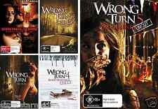 Wrong Turn : Complete Collection 1 2 3 4 5 : NEW DVD