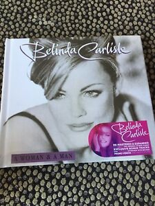 Belinda Carlisle - A Woman & a Man DELUXE EDITION  2 CD DVD  -NEW / SEALED