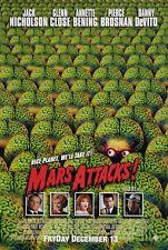 Mars Attack Version D Movie Poster  13x19