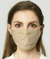 🇫🇷 Masque AFNOR de Protection Lavable Norme Française Barrière Beige