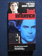 Bad Influence [VHS] [VHS Tape] [1990] Rob Lowe James Spader