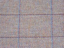Gorgeous pink windowpane check wool tweed fabric by m. Dresses, jackets, suits