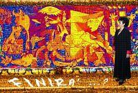 """MARIA MURGIA - """"Il muro della pace"""" -  Fotomosaico digitale cm 120x180"""