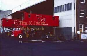 "QANTAS Airport Catering Truck Ford D600 Photo Slide 1976 Mascot 35mm 2x2"" CD"