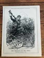 More details for 1915 cartoon print . the breaking of the spell ! steinbach jan 3rd .