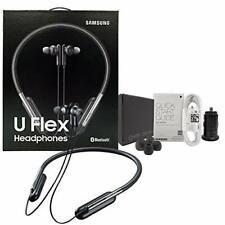 New Samsung Level U Flex Bluetooth Wireless Headphones  w/Car Charger EO-BG950