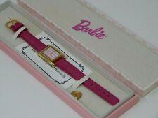 Vintage Barbie Collectible Watch Pink Stripe 1995 w Box Retail $45 Rare HTF