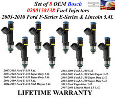 1997-98 MUSTANG 3.8L BOSCH OEM FUEL INJECTORS 6X for 1993-96 FORD F-SERIES 4.9L