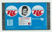 1977 Mike Hargrove RC Cola can flat