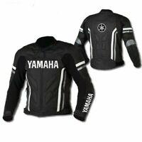 Yamaha Motorcycle Leather Street Racing Motorbike Jacket