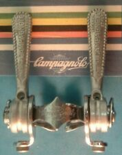 Campagnolo Record #1014 Downtube Shifters Vintage - Clamp-On- Chrome Guides-VGC