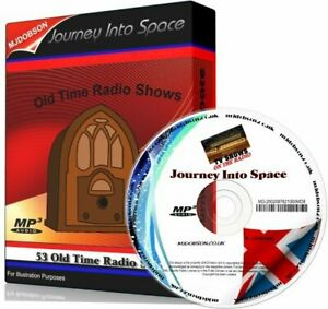 Journey Into Space Radio Shows 53 episodes of Science Fiction IMMEDIATE DVD
