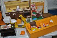 Vintage SINDY DOLLS HOUSE FURNITURE and Accessories BOXED