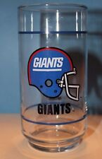 New York Giants NFL Glass Mobil 5.5 in. Tall, Single Stripe  Glasses Mug Cup