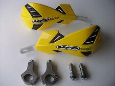 UFO XTREME Enduro Rally Motocross Handguards Fatbar Fitting Kit YELLOW DRZ RMZ
