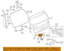 VW VOLKSWAGEN OEM 15-17 Golf SportWagen Liftgate-Lock 5G0827505C9B9