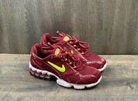 Nike Air Zoom Spiridon Cage 2 Mens Size 8 Shoes CJ1288-601 Burgundy Red Sneakers