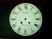Cadran d'horloge comtoise dial clock réplique 18eme pendule coq 23cm uhr  2