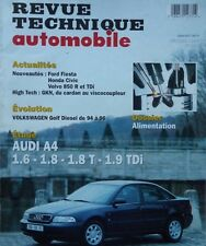 AUDI A4 1.6 1.8 1.8 T 1.9 TDI ESSENCE DIESEL Revue technique RTA 581 1996
