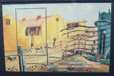 SOUTH AFRICA 1996 Gerard Sekoto Paintings Art. SOUVENIR SHEET. Fine USED SGMS909